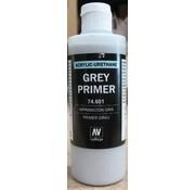 VALLEJO ACRYLIC (VLJ) 74601 - GREY PRIMER  ACRY-POLY      200ML