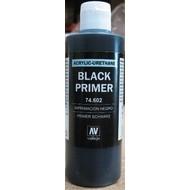 VLJ-VALLEJO ACRYLIC PAINTS 74602 - BLACK PRIMER ACRY-POLY      200ML