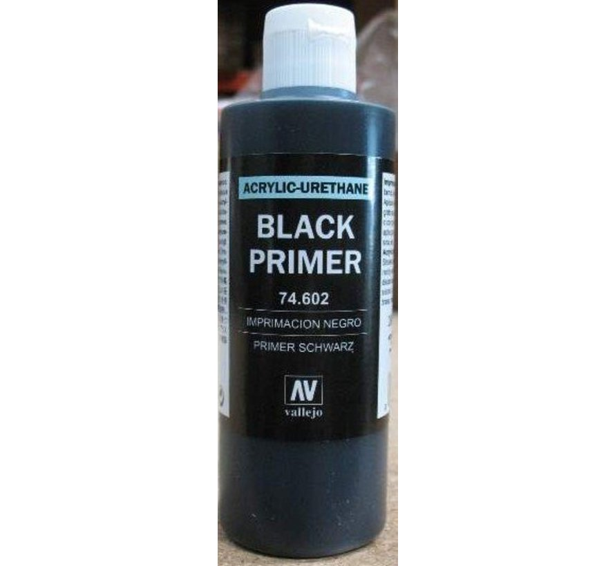 74602 - BLACK PRIMER ACRY-POLY      200ML