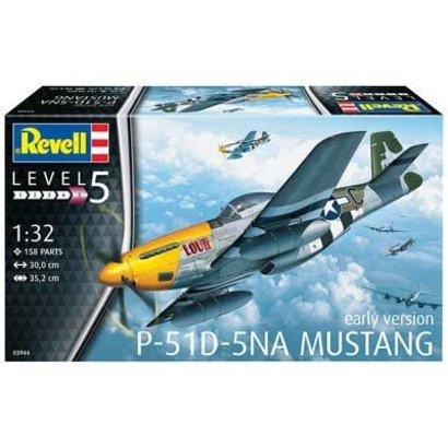 RVL- Revell Germany 03944 1/32 P-51D Mustang Plastic aircraft model Kit