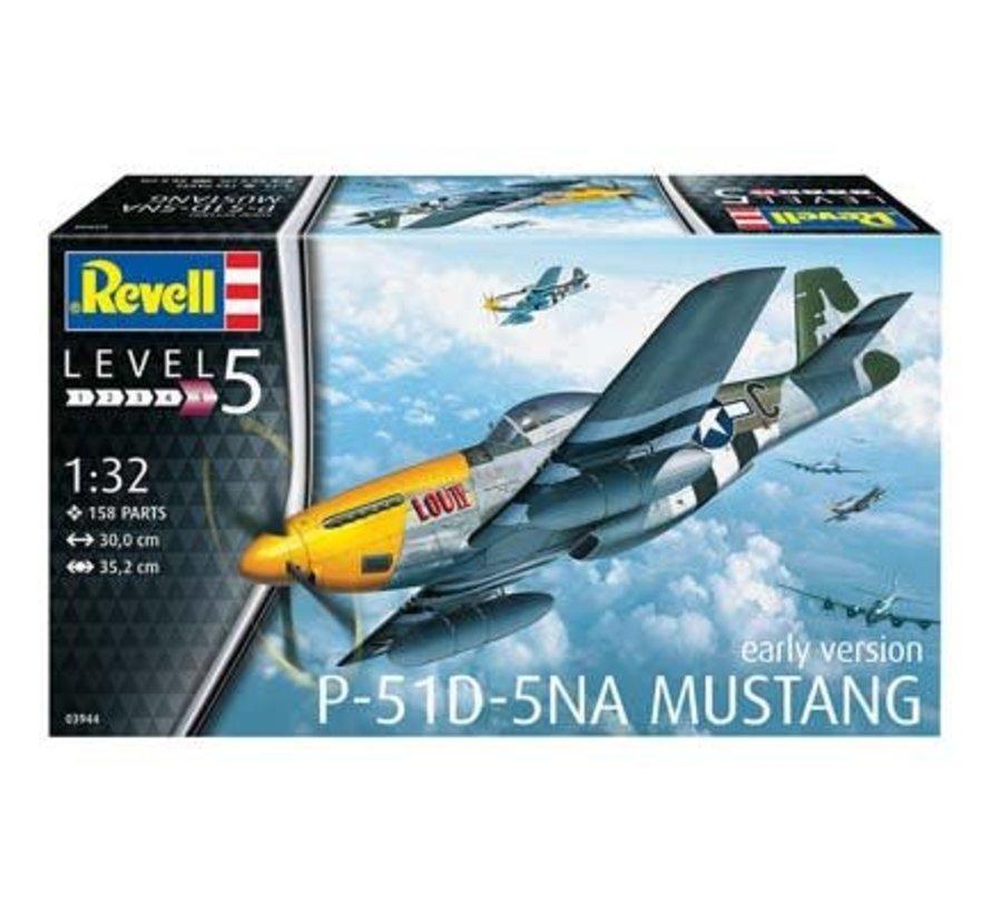 03944 P-51D Mustang 1/32  Model Kit