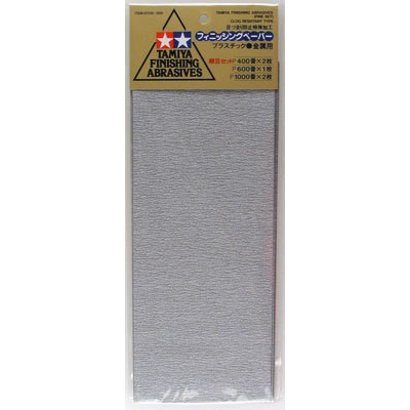 TAM - Tamiya 865- 87010 Finishing Abrasives Fine