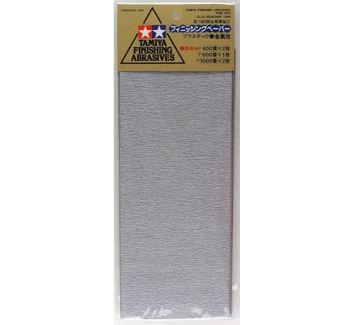Tamiya (TAM) 865- 87010 Finishing Abrasives Fine