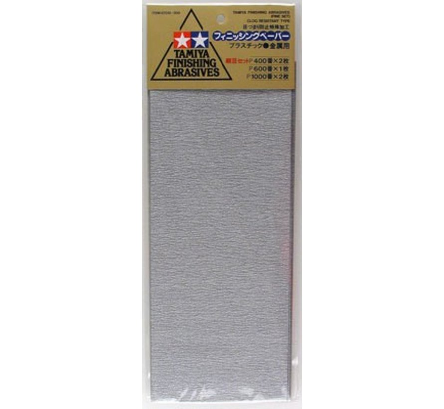 87010 Finishing Abrasives Fine