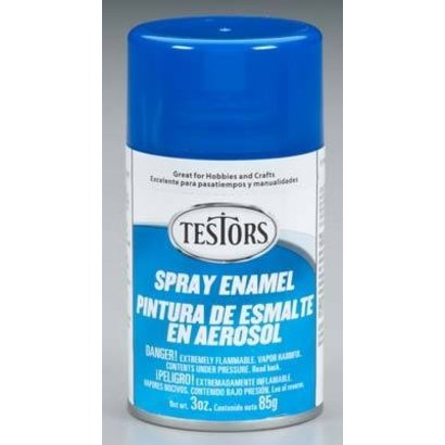 TES - Testors 1211 Spray 3oz Dark Blue Paint