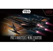 BANDAI MODEL KITS Star Wars Poes Boosted X-Wing