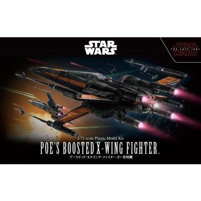 BANDAI MODEL KITS 219752 1/72 Star Wars Poes Boosted X-Wing Star Wars
