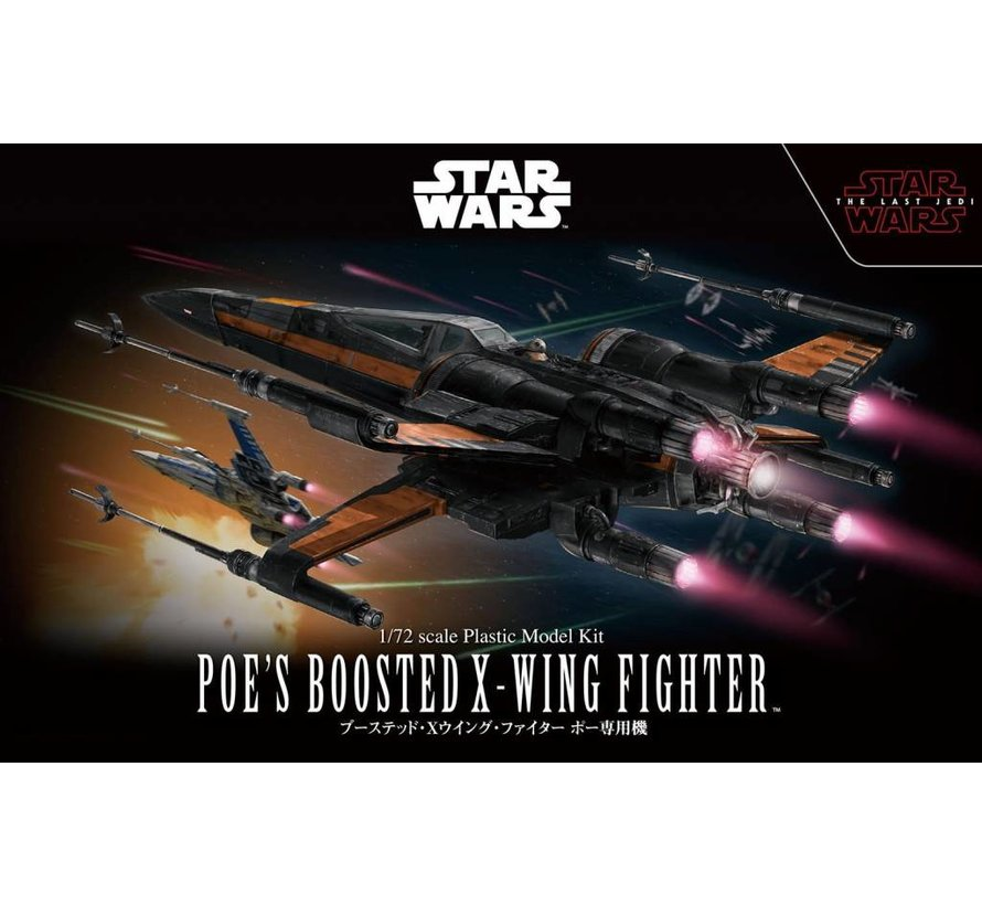 219752 1/72 Star Wars Poes Boosted X-Wing Star Wars