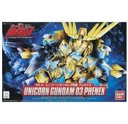 BANDAI MODEL KITS BB#394 Unicorn Gundam 03 Phenex  SD