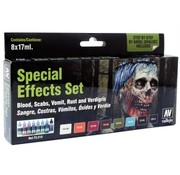 VALLEJO ACRYLIC (VLJ) Special Effects Paint Set