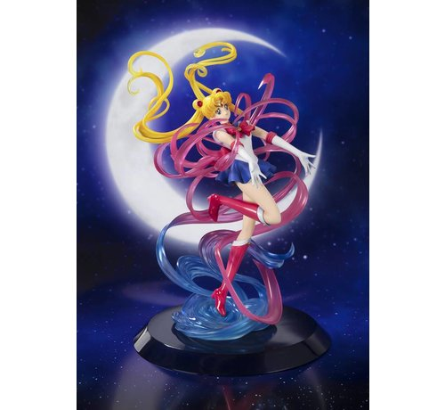 "Tamashii Nations 55072 Sailor Moon -Moon Crystal Power, Make Up- ""Sailor Moon"", Bandai FiguartsZero Chouette *P-Bandai*"