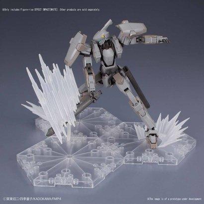 BANDAI MODEL KITS 230459 Shockwave White, Bandai Figure-rise Effect