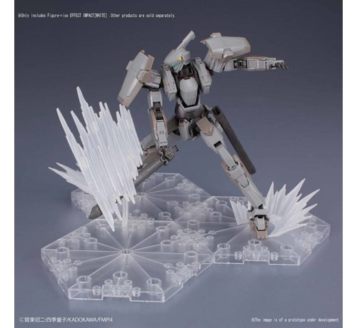 BANDAI MODEL KITS 230459 Shockwave White, Bandai Figure-rise Effect