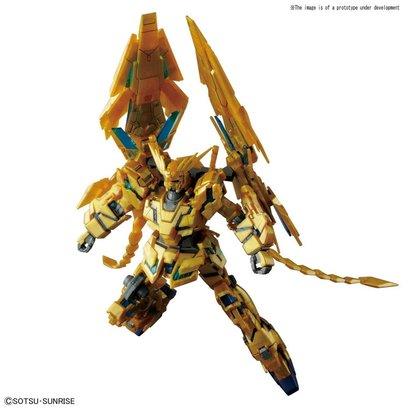 "BANDAI MODEL KITS 229965 #213 Unicorn Gundam 03 Phenex Destroy Mode (NT. Ver) ""Gundam NT"", Bandai HGUC 1/144"