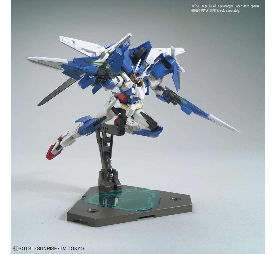 "225756 #09 Gundam 00 Diver Ace ""Gundam Build Divers"", Bandai HGBD 1/144"