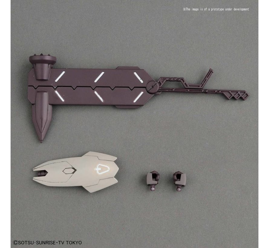 "230347 #010 Galbaldy Rebake ""Gundam Build Divers"", Bandai HGBD"