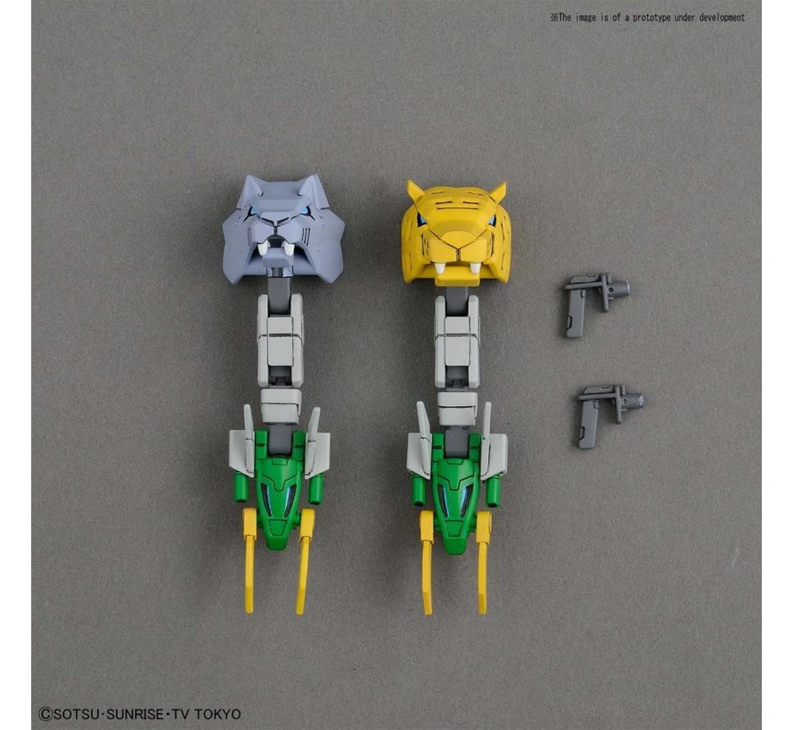 "230356 Gundam Jiyan Altron ""Gundam Build Divers"", Bandai HGBD"