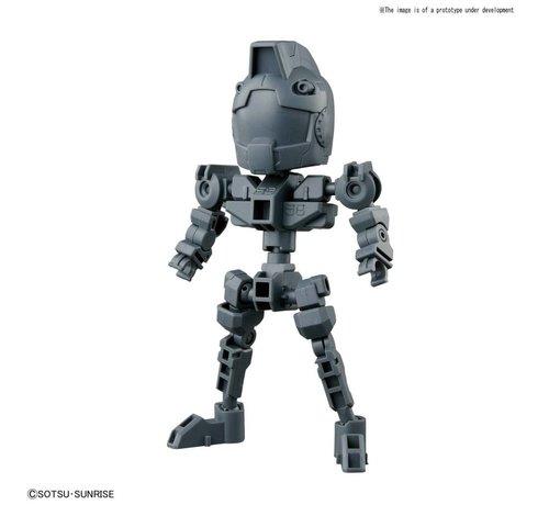 "BANDAI MODEL KITS 230354 Cross Silhouette Frame Gray ""SD Gundam"", Bandai SDCS Gundam"