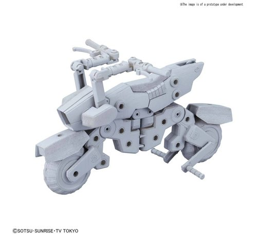 "BANDAI MODEL KITS 230362 Machine Rider ""Gundam Build Divers"", Bandai HGBD"