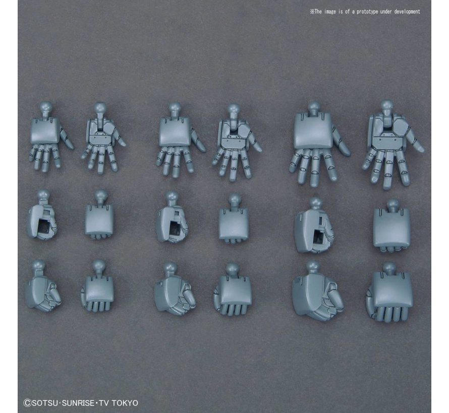 "230833 #044  Build Hands [MARU] SML ""Gundam Build Divers"", Bandai HGBC"