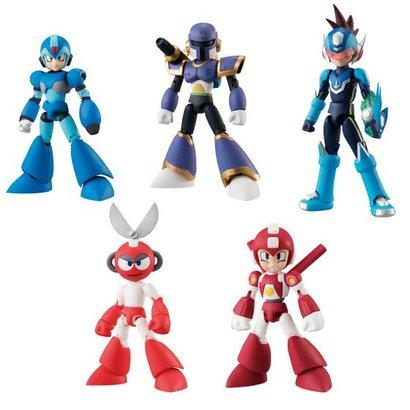 """Bandai Shokugan 22452 Mega Man Vol. 2 """"Mega Man""""  Bandai 66 Action"""
