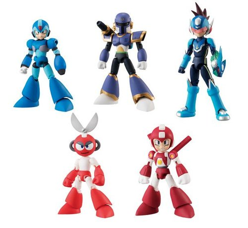 "Bandai Shokugan 22452 Mega Man Vol. 2 ""Mega Man""  Bandai 66 Action"