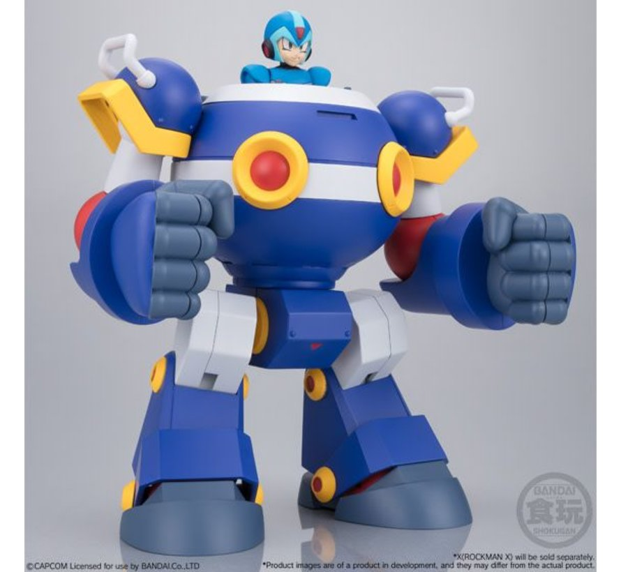 "22451 Ride Armor ""Mega Man""  Bandai Super Mini Pla"