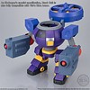 "Bandai Shokugan 22451 Ride Armor ""Mega Man""  Bandai Super Mini Pla"