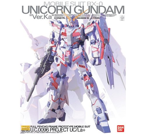 BANDAI MODEL KITS 152245 1/100 MG Unicorn Gundam (Ver. Ka)