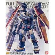 BANDAI MODEL KITS Full Armor Gundam Thunderbolt Ver. Ver. Ka MG