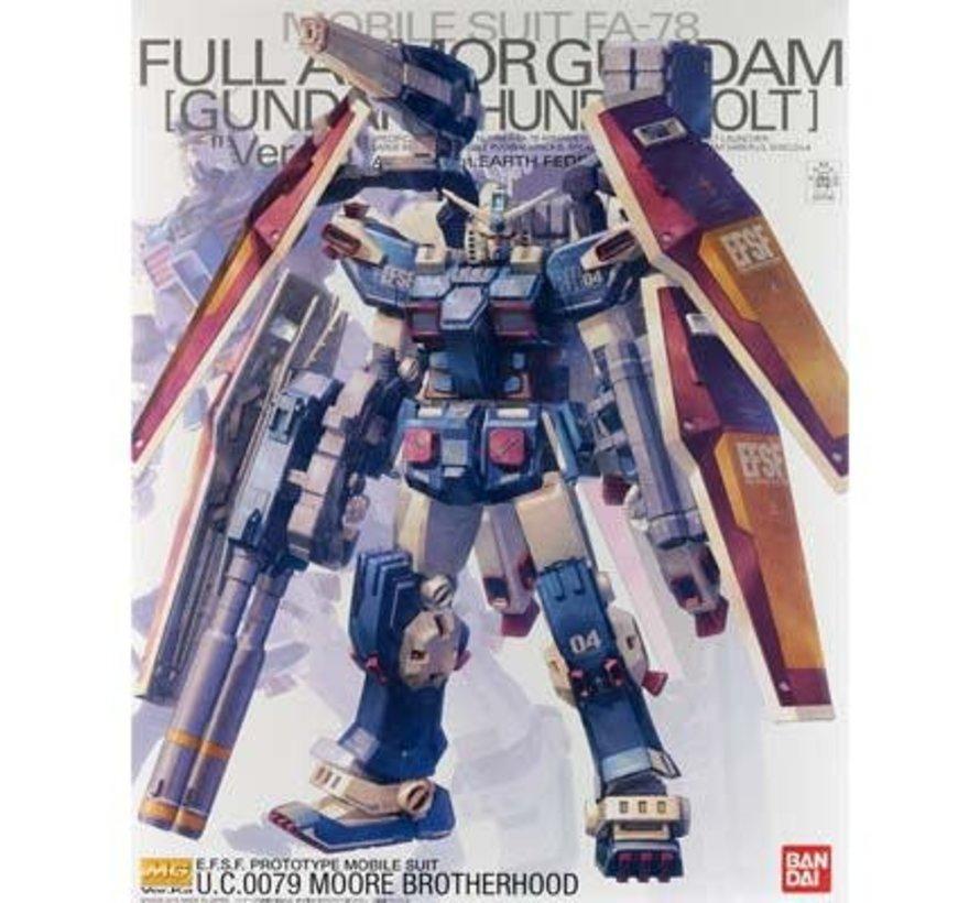 207589 Full Armor Gundam Gundam Thunderbolt Ver. Ver. Ka Bandai MG