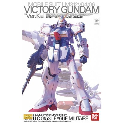 BANDAI MODEL KITS 161410 VICTORY GUNDAM Ver.Ka with Clear Body Parts, Bandai MG