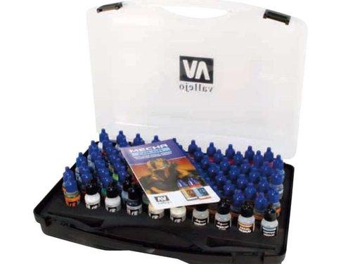 VALLEJO ACRYLIC (VLJ) Mecha Color Paint Set Case -Vallejo -