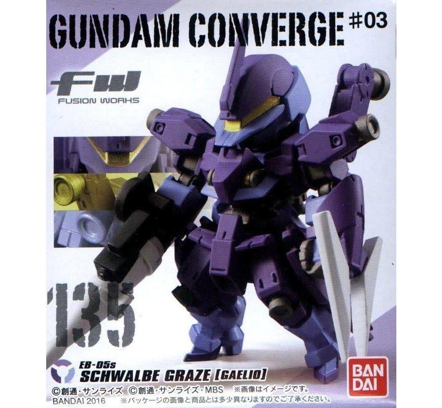05763 FW Gundam Converge #3  Bandai Shokugan