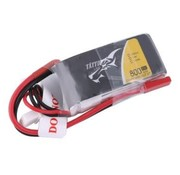 Tattu Tattu 800mAh 7.4V 45C 2S1P Lipo Battery Pack with JST-SYP plug