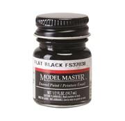 TES - Testors 1749 Model Master Flat Black 37038 1/2 oz *