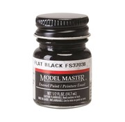 Testors (TES) 704- 1749 Model Master Flat Black 37038 1/2 oz *