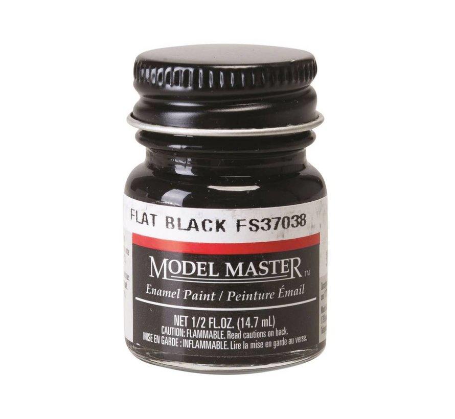 1749 Model Master Flat Black 37038 1/2 oz *