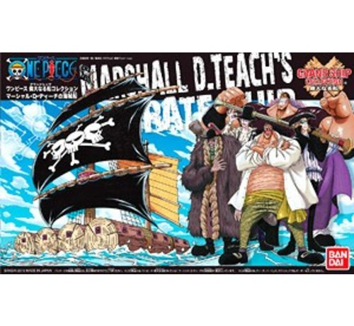 BANDAI MODEL KITS (D) 200637 Marshall D. Teach's Ship, Bandai Grand Ship Collection