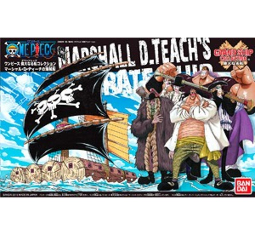 (D) 200637 Marshall D. Teach's Ship, Bandai Grand Ship Collection