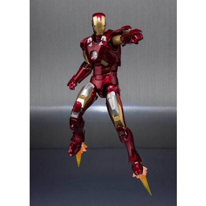 "Tamashii Nations 55100 Ironman Mk-7 And Hall Of Armor Set ""Marvel"", Bandai S.H.Figuarts *P-Bandai*"
