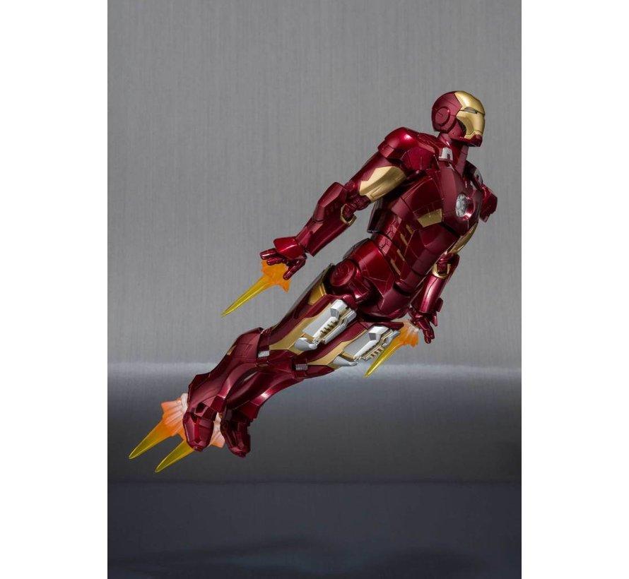 "55100 Ironman Mk-7 And Hall Of Armor Set ""Marvel"", Bandai S.H.Figuarts *P-Bandai*"