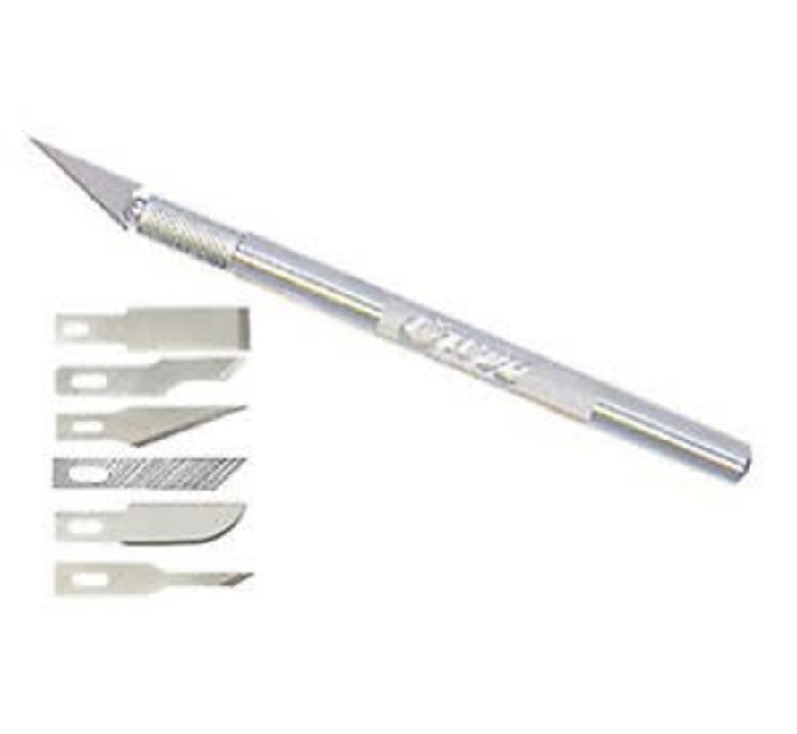 19064 K1 Light Duty Knife with 6 Blades