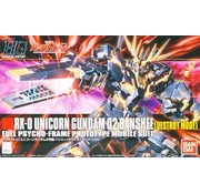 BANDAI MODEL KITS Unicorn Gundam 02 Banshee Destroy Mode