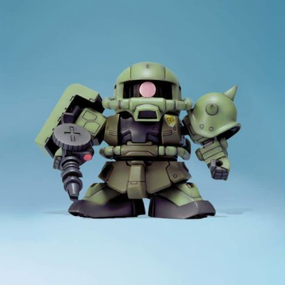 BANDAI MODEL KITS 103330 BB #218 MS-06F Zaku II, Bandai SD