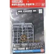 BANDAI MODEL KITS Ms Figure 01 Builder Parts