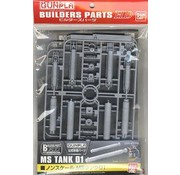 BANDAI MODEL KITS 178547 Ms Tank 01 Builder Parts