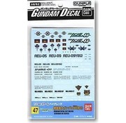 BANDAI MODEL KITS Gd-47 Gundam Oo Decals