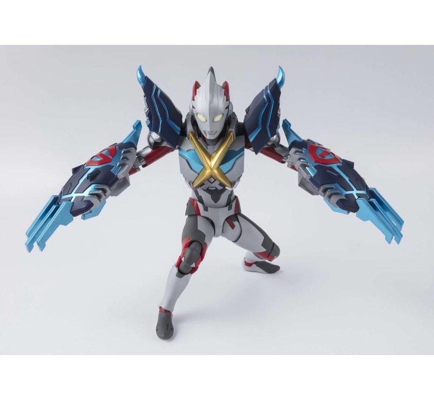 "55083 Ultraman X And Gomora Armor Set ""Ultraman X"", Bandai S.H.Figuarts"