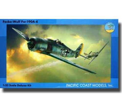PACIFIC COAST MODELS (PCM) 32011A4 Pacific Coast Models Focke-Wulf Fw.190A-4